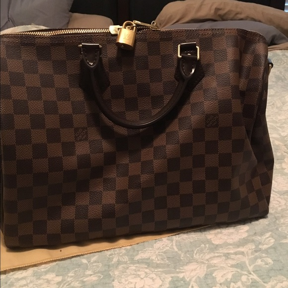 bb0e126a3f78 Louis Vuitton Handbags - Louis Vuitton Speedy B 35