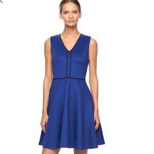 Marine blue elegant dress