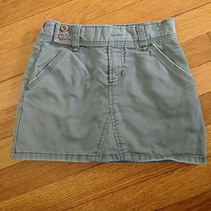 Old Navy Other - Old navy army green skirt skort