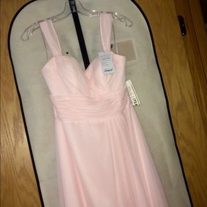 Wtoo bridesmaid dress in light pink