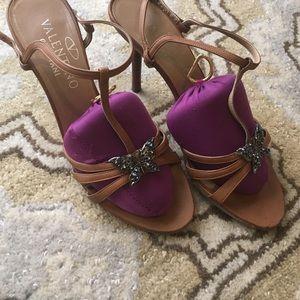 Valentino scrappy sandals 6.5