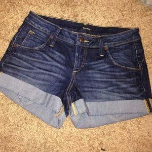 Bebe cuffed shorts