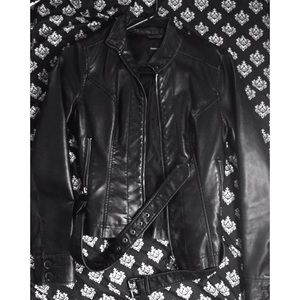 Express Jackets & Blazers - FINAL! FLAWLESS MINI Leather▪️