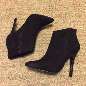 Classic Black Ankle Booties