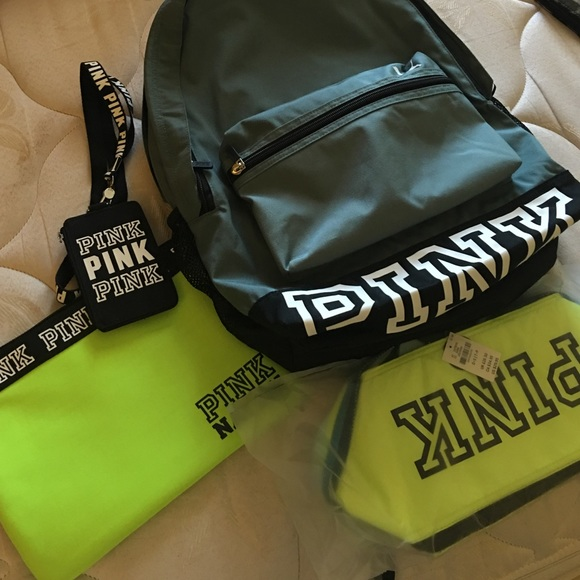 PINK Victoria's Secret - Olive green PINK backpack from Dani's ...