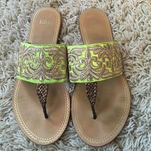 Anthropologie Shoes - 🆕LISTING! Anthro yellow thong