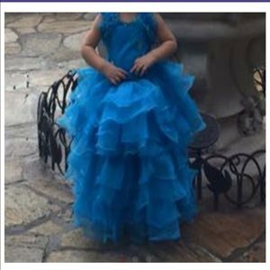 Other - Blue 5 year presentation dress