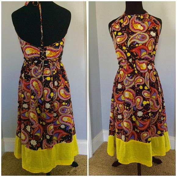 50% off Blue Plate Dresses &amp Skirts - Blue Plate halter sundress ...
