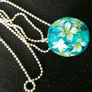 Jewelry - Glass ball necklace