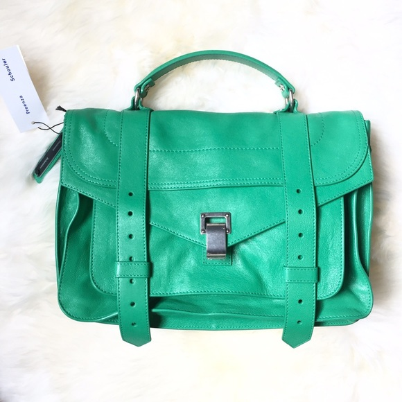How Much PS1+ Medium - Green Proenza Schouler Shopping Online Outlet Huge Surprise Huge Surprise Online Cheap Sale Fake PGuAH7CAS