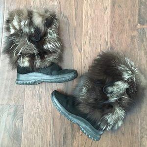Pajar Fox & Calf Hair Boots