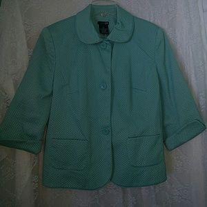 East 5th Jackets & Blazers - Turquoise Blazer