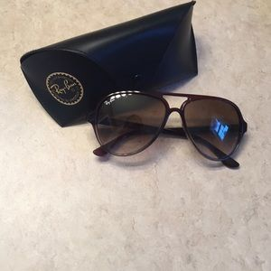 Authentic Brown raybans