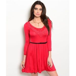 🔰New! Adorable Classic Red Dress
