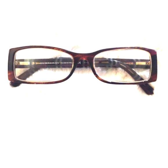 1a025fb35af5 Burberry Accessories - Rectangular Burberry Tortoise Shell Frames