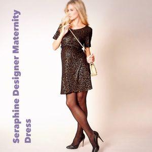 Seraphine Dresses & Skirts - 🎉HosPick🎉📽LUXE Designer Maternity Dress❌Sale❌