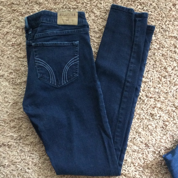 82% off Hollister Denim - Hollister Skinny Jeans - Back to ...