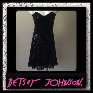 Betsey Johnson Dresses & Skirts - Betsey Johnson Black Evening Dress
