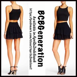 BCBGeneration Dresses & Skirts - ❗️1-HOUR SALE❗️BCBGeneration BLACK SKIRT Mini