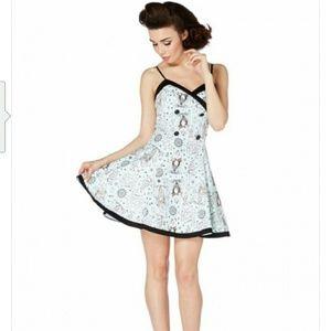 "Voodoo Vixen Dresses & Skirts - WOMEN'S ""NAUTICAL CIRCUS"" FLARE DRESS BY VOODOO VI"