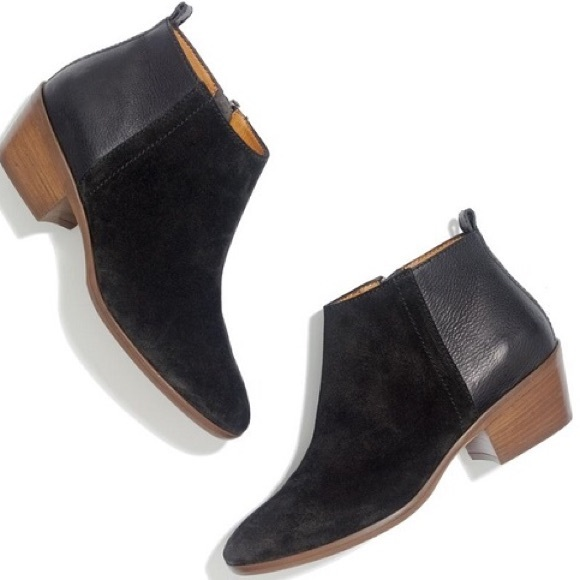 Madewell Charley Ankle Boots Black