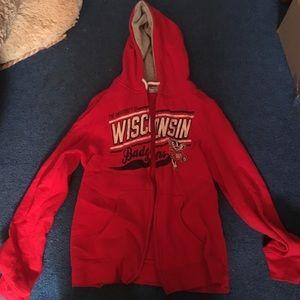 UW Madison zip up hoodie