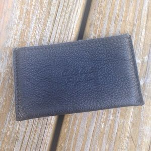 Cute by psycho leather card holder
