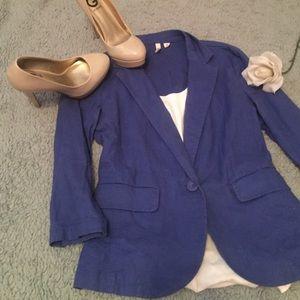 Frenchi Jackets & Blazers - 🌸 FRENCHI BLUE BLAZER