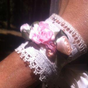 kreativekristen  Jewelry - Cali Boho lace wrist cuff