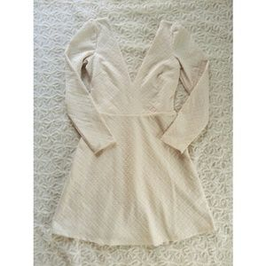 Urban Outfitters Dresses - {urban outfitters} textured plunge dress