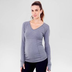 Ingrid & Isabel Tops - ⚜ Maternity Active Long Sleeve Top