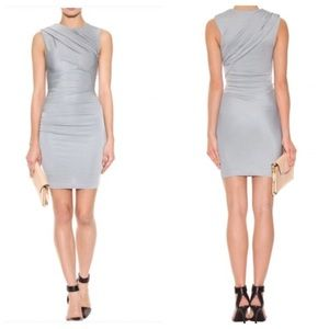 Beautiful gray draped dress