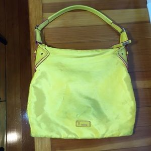 M by Missoni Handbags - M missoni yellow nylon purse shoulder bag hobo