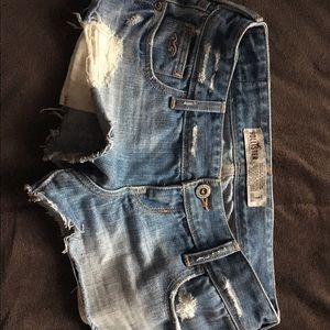 Hollister Pants - Hollister Denim shorts