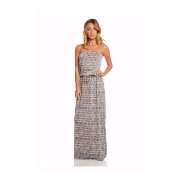 fbed29afe5 Elan Dresses | Sale Gray Belize Strapless Dress Nwt M 79 | Poshmark
