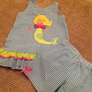 Rare Editions Other - Rare Editions Toddler Mermaid 2 Piece Set