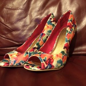 Christian Siriano Shoes - Christian Siriano for Payless multicolored heels