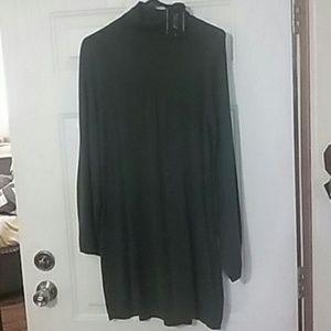 Beautiful Olive Green Sweater Dress