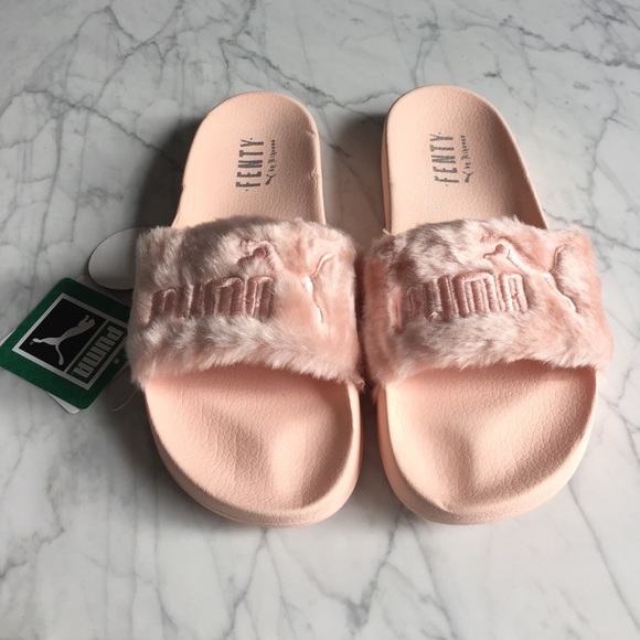 Puma Laukku Koko : Off puma shoes fenty pink slippers rhianna cute