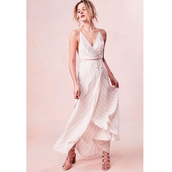 e12600ce153b6 Kimchi Blue Dresses   Skirts - Kimchi Blue Thistle Sparkle Stripe Wrap Dress