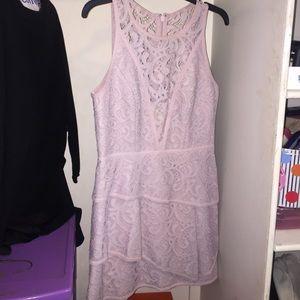 BCBGMAXAZRIA size 10 lilac dress