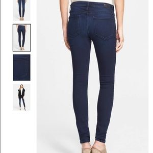 Joie mid rise skinny jeans (blue slate)