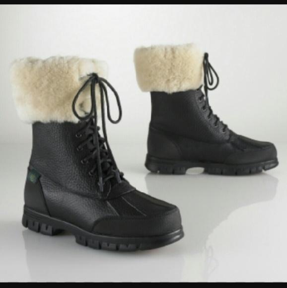 Lauren Ralph Lauren Polo Fur Boots