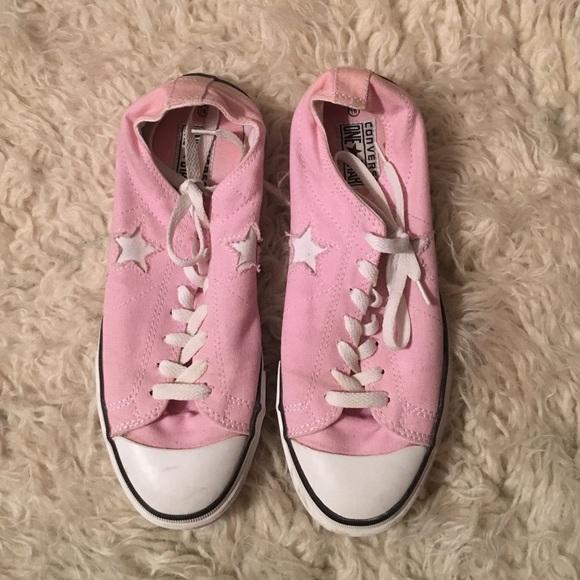 5c3b60b2dde1 Converse Shoes - Converse One Star light pink size 9.5