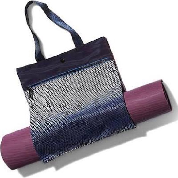 Athleta reflective mesh yoga tote f39bf1284
