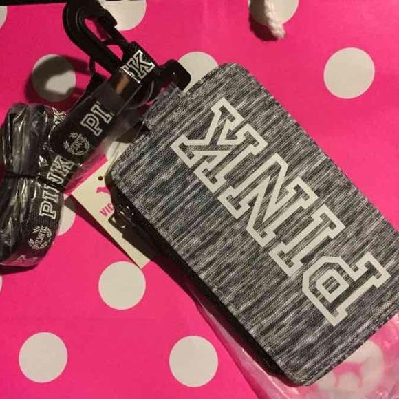 f6e678abb16 Victoria Secret Pink Lanyard I.D Holder. M 579ca10ed14d7b386600079a. Other  Accessories ...