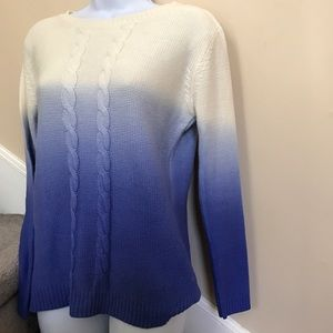 Sale! Ombré Blue Sweater