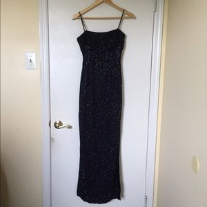 Dresses & Skirts - Sequin evening gown, Midnight blue, 3/4