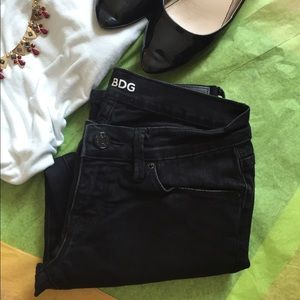 NEW WITHOUT THE TAGS BDG BLACK JEANS