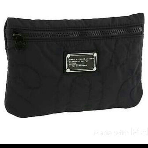 5a122975d66f Marc by Marc Jacobs Quilted Nylon Makeup Bag